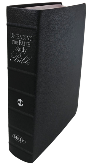 Defending the Faith Study Bible (Genuine Leather) PREORDER