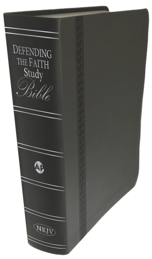 Defending the Faith Study Bible (Italian Duotone) PREORDER