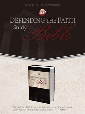 Defending the Faith Study Bible (Hardback)