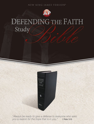 Defending the Faith Study Bible (Genuine Leather)
