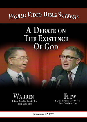 Warren-Flew Debate: Existence of God, Creation, and Evolution - DVD