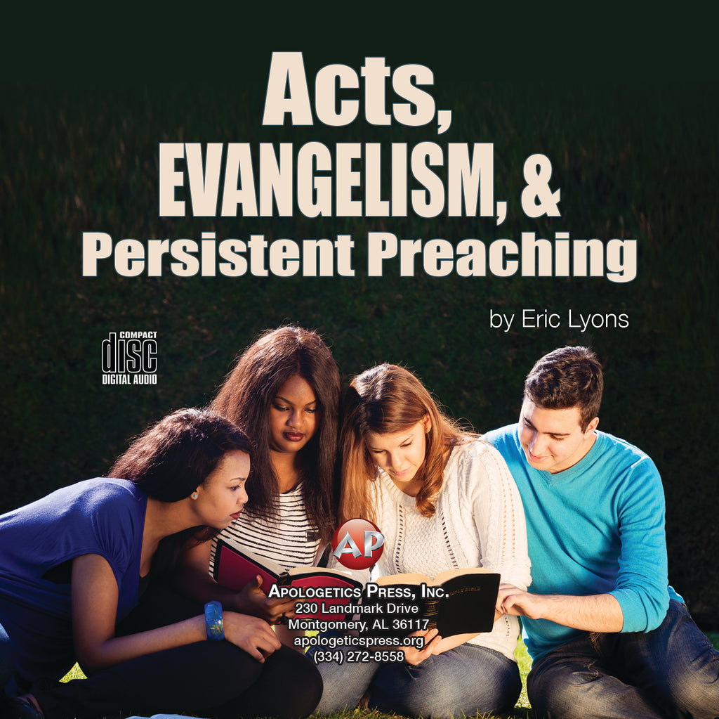 Acts, Evangelism, and Persistent Preaching [Audio Download]