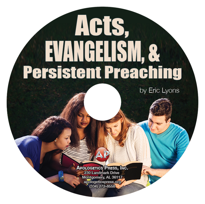 Acts, Evangelism, and Persistent Preaching (CD)