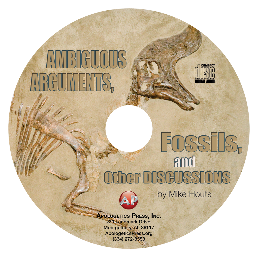 Ambiguous Arguments, Fossils, and Other Discussions (CD)