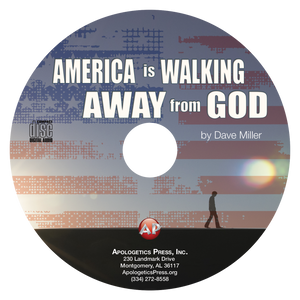 America is Walking Away from God (CD)