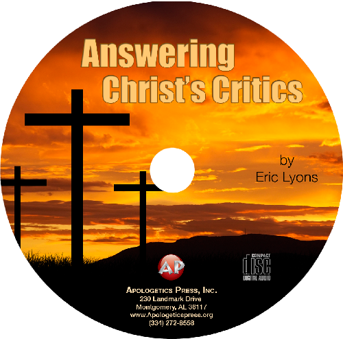 Answering Christ's Critics (CD)