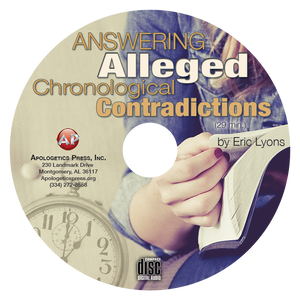 Answering Alleged Chronological Contradictions (CD)