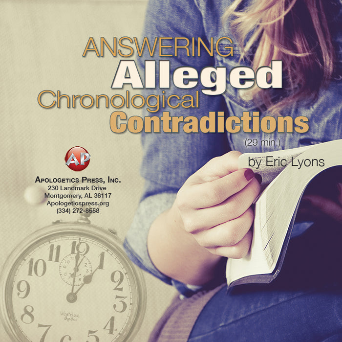 Answering Alleged Chronological Contradictions [Audio Download]