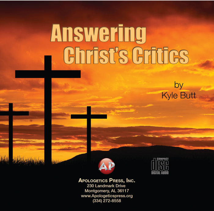 Answering Christ's Critics [Audio Download]