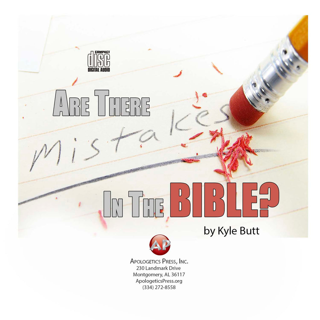 Are there Mistakes in the Bible? [Audio Download]
