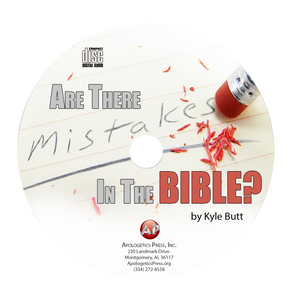 Are There Mistakes in the Bible? (CD)