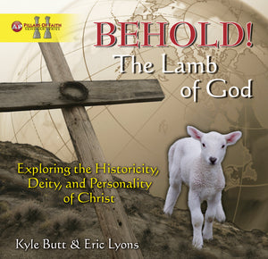 BEHOLD! The Lamb of God  - DVD