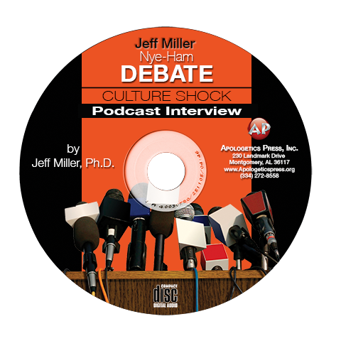 Jeff Miller: Nye-Ham Debate Culture Shock Interview (CD)
