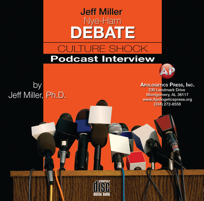 Jeff Miller: Nye-Ham Debate Culture Shock Interview [Audio Download]