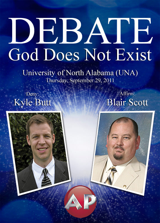 Butt/Scott Debate - God Does Not Exist - DVD