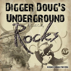 Digger Doug's Underground  Rocks - CD