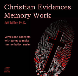 Christian Evidences Memory Work - CD
