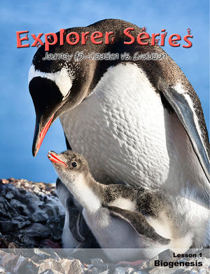 Explorer Series 5: Creation vs. Evolution