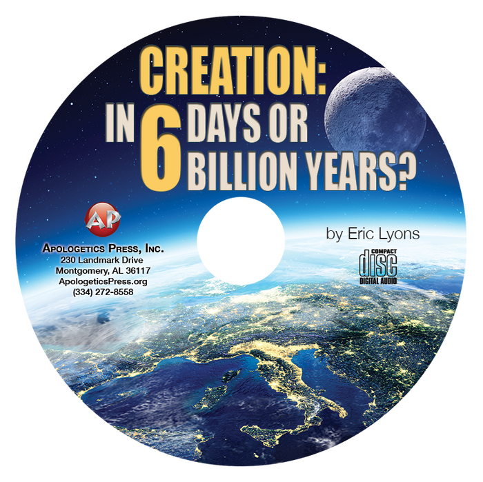 Creation: In Six Days or 6 Billion Years? (CD)