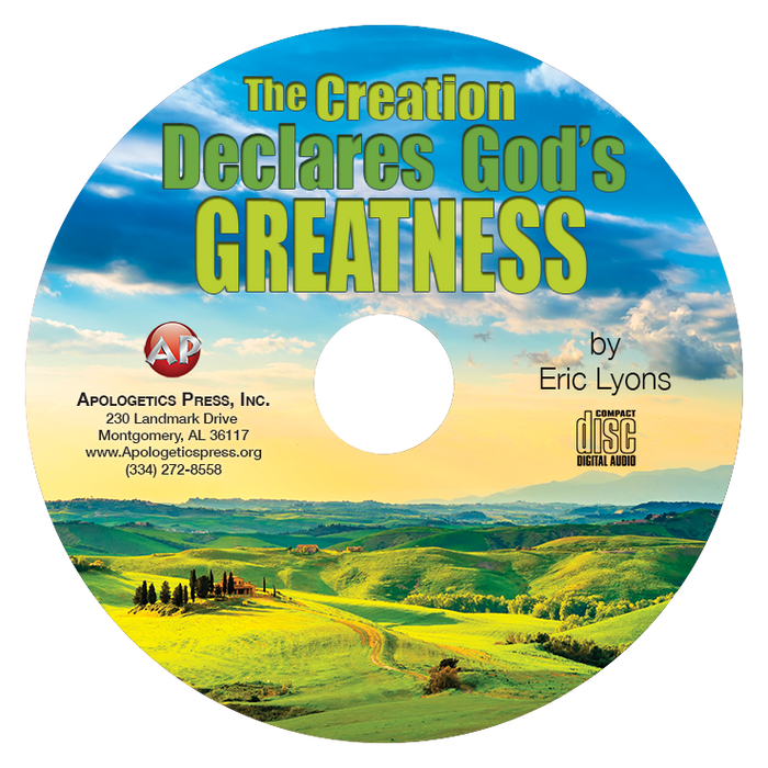 Creation Declares God's Greatness (CD)