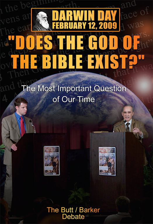 Butt/Barker Debate: Does God Exist? - DVD