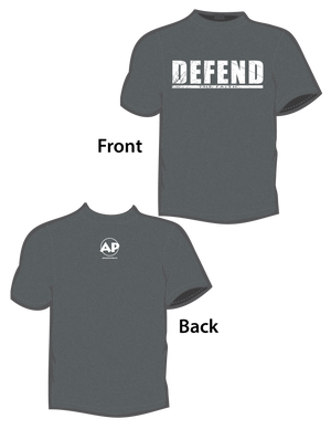 Defend the Faith (T-Shirt) Gray