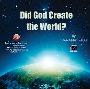 Did God Create the World? [Audio Download]