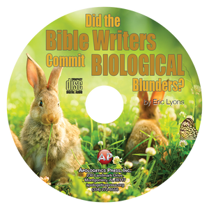 Did the Bible Writers Commit Biological Blunders? (CD)