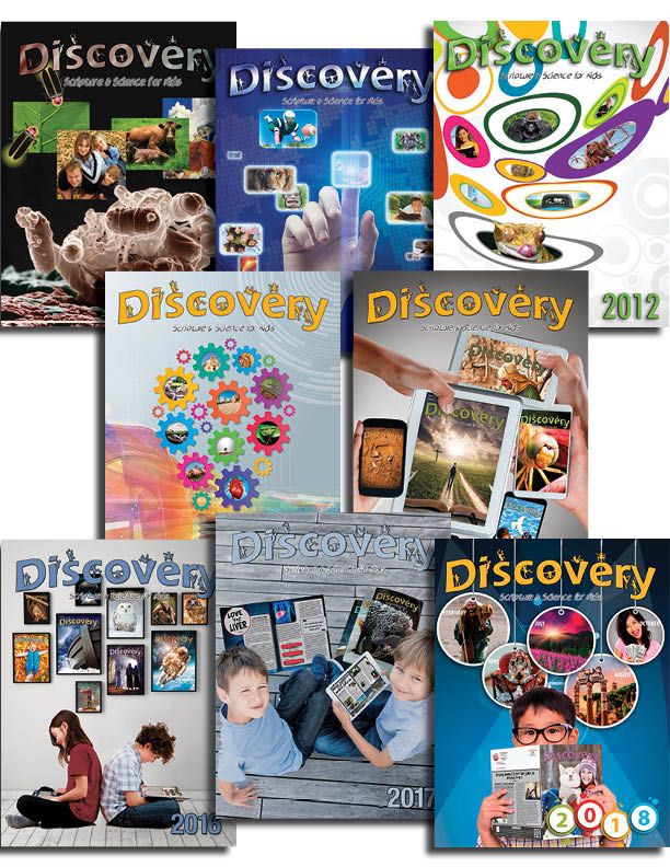Discovery Bound  Volumes Set 1999-2018