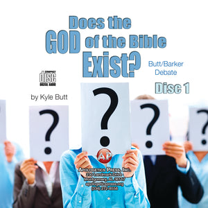 Does the God of the Bible Exist? (Butt/Barker Debate) [Audio Download]