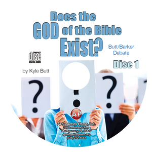 Does the God of the Bible Exist? Butt/Barker Debate (2 CDs)
