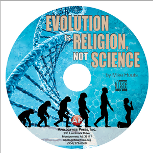Evolution is Religion, Not Science (CD)