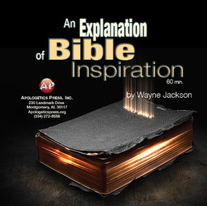 An Explanation of Bible Inspiration [Audio Download]