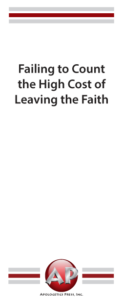 Failing to Count the High Cost of Leaving the Faith
