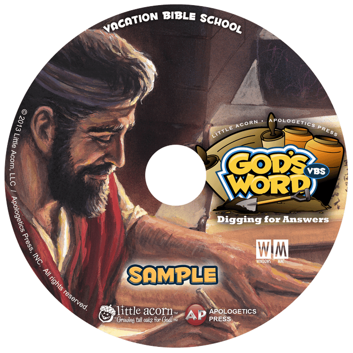 The Bible is God's Word—Digging For Answers (Sample CD)