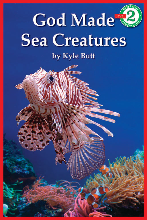 Early Reader: God Made Sea Creatures