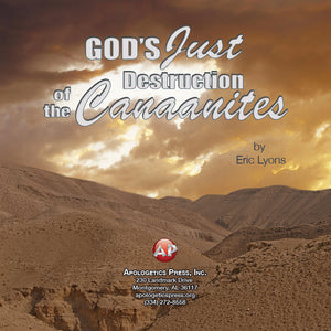 God's Just Destruction of the Canaanites [Audio Download]