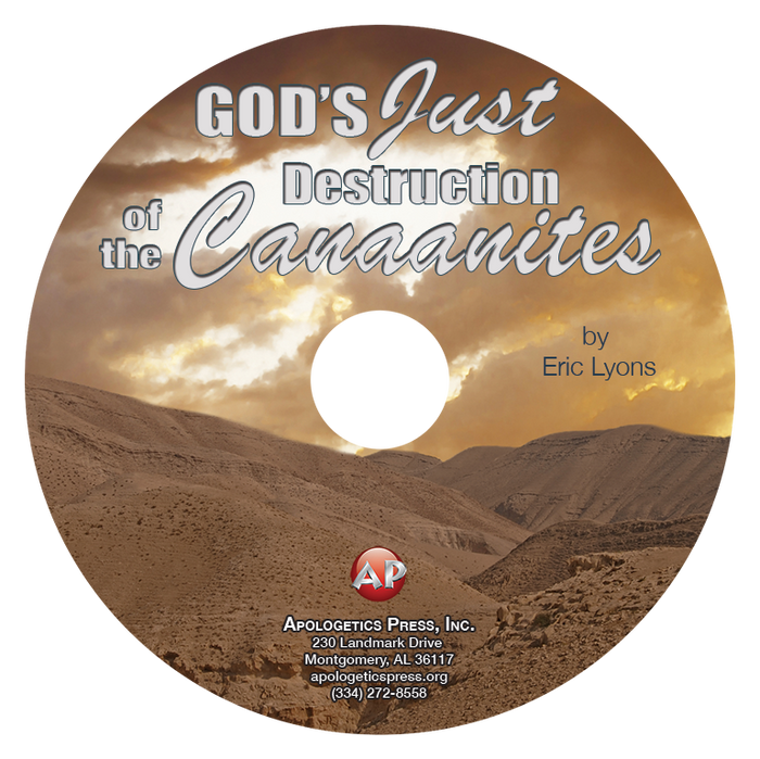 God's Just Destruction of the Canaanites (CD)