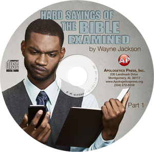 Hard Sayings of the Bible Examined (2 CDs)