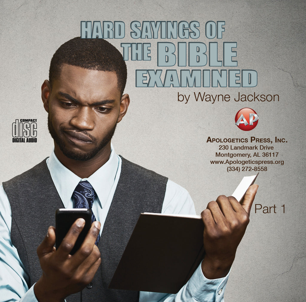 Hard Sayings of the Bible Examined [Audio Download]