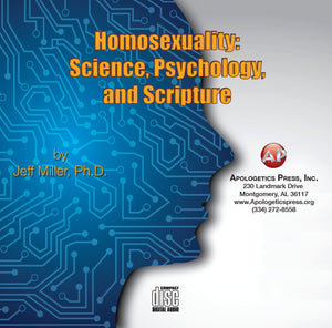Homosexuality: Science, Psychology, and Scripture [Audio Download]
