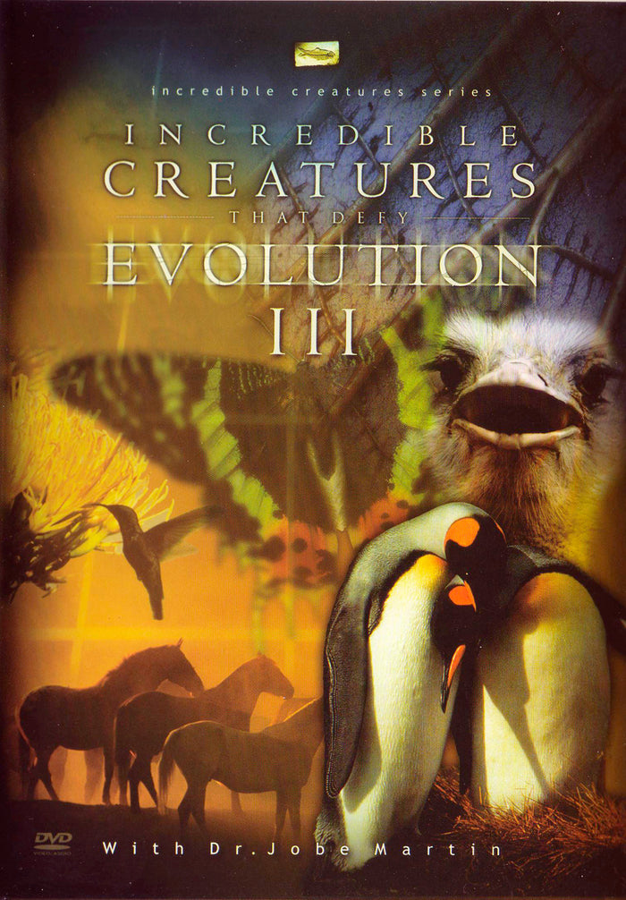 Incredible Creatures that Defy Evolution III - DVD