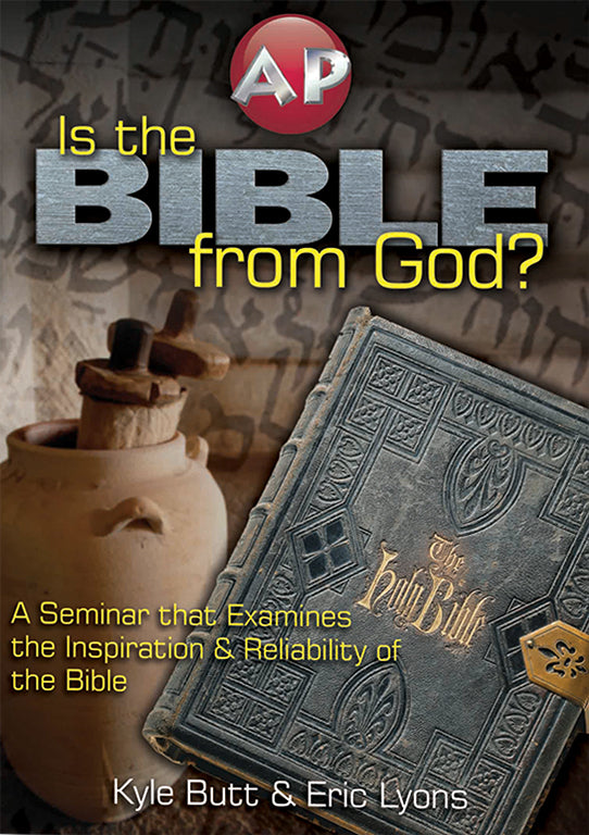 Is the Bible from God - DVD