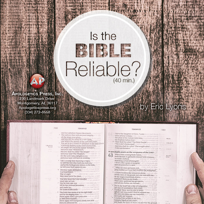 Is the Bible Reliable? [Audio Download]