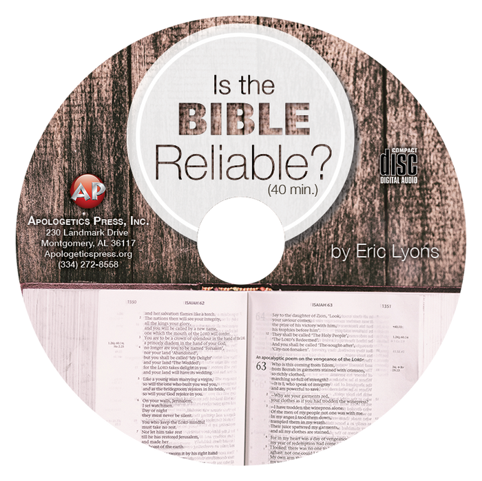Is the Bible Reliable? (CD)