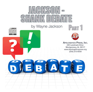 Jackson-Shank Debate on Premillennialism (2 CDs)