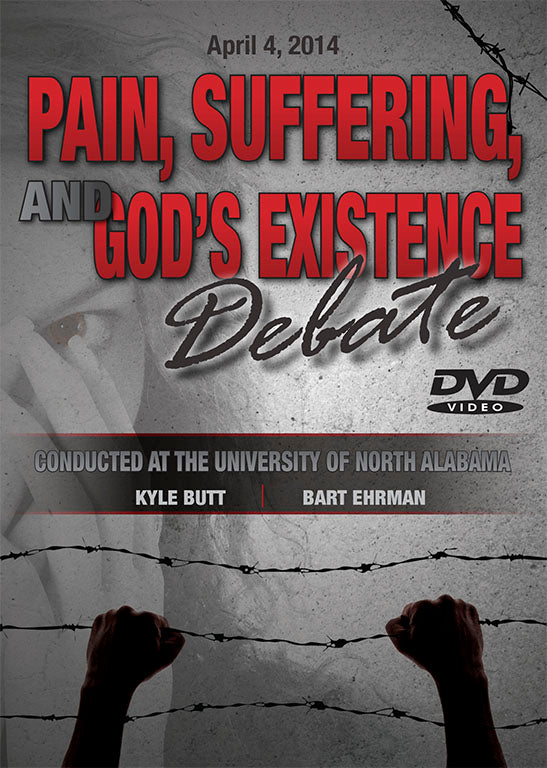 Butt/Ehrman Debate: Suffering and the Existence of God - DVD