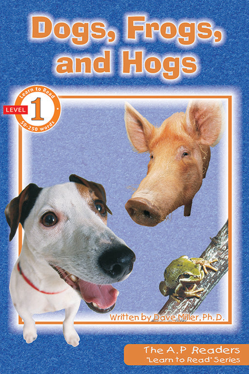 Learn to Read: Dogs, Frogs, and Hogs