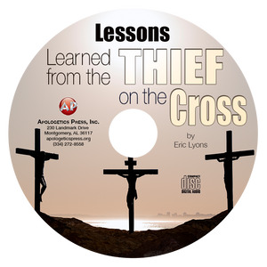 Lessons Learned from the Thief on the Cross (CD)