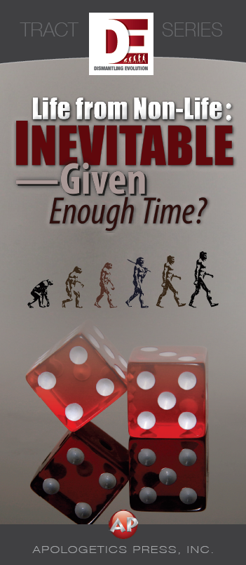 Life from Non-Life: Inevitable—Given Enough Time?